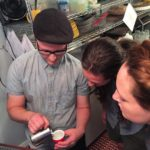 geauxmez adambrou and bossylikeme talk demitasse pouring tips after Juneshellip